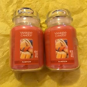 Two Yankee Candles